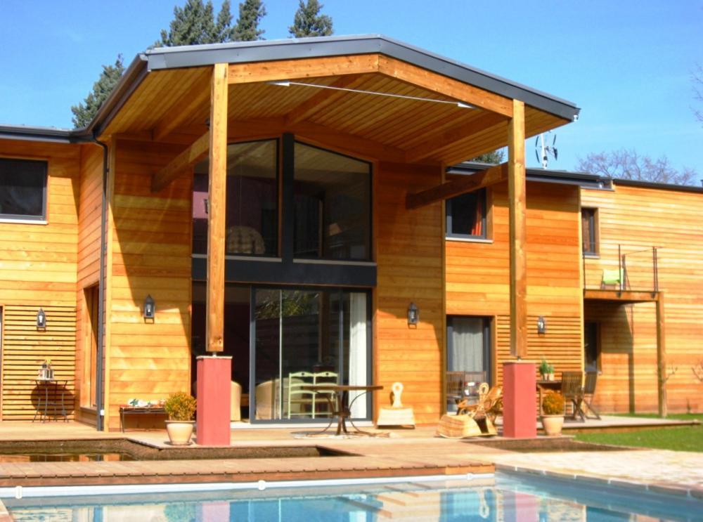 Constructeur maison en bois aquitaine for Constructeur de maison en bois suisse