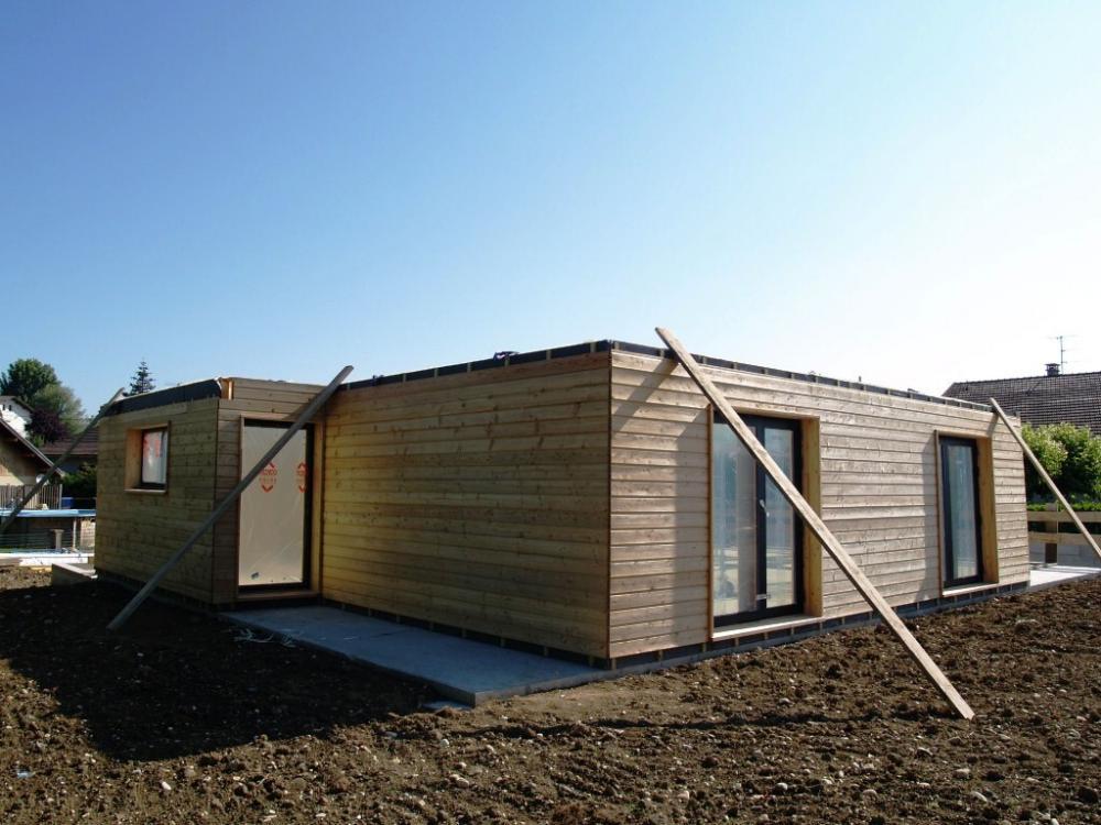Constructeur maison bois ile de france maison moderne for Constructeur maison bois 54