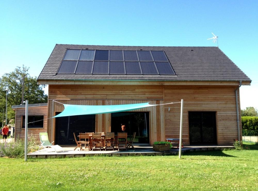 Architecture bois aquitaine construction maison bois ile for Constructeur maison moderne ile de france