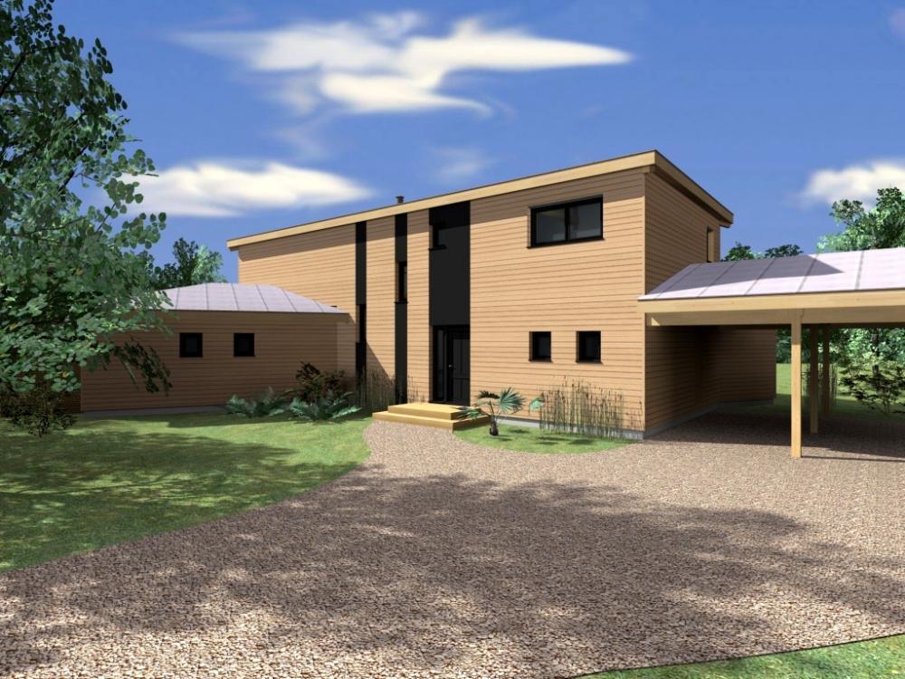 Constructeur maison bois aquitaine for Constructeur maison bois yffiniac