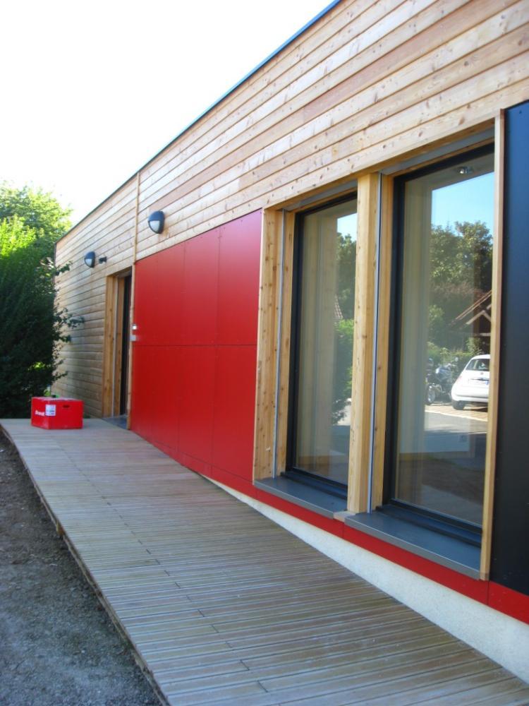 Architecture bois Aquitaine  Construction maison bois Ile
