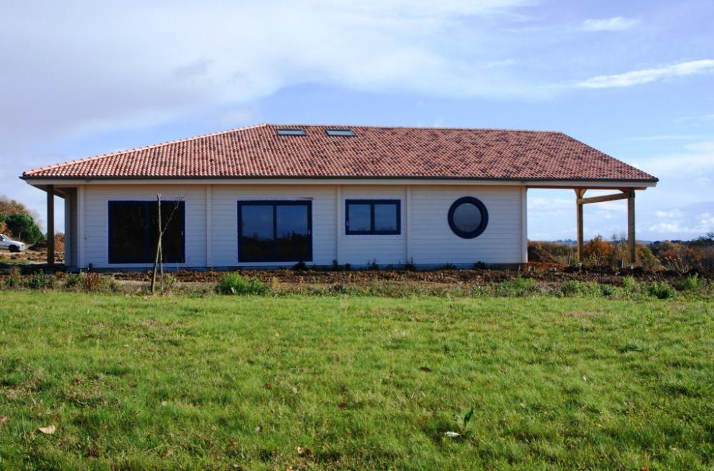 Architecture bois aquitaine construction maison bois ile for Maison bois aquitaine